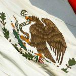 Bandera actual, decretada desde la presidencia de Díaz Ordaz en 1968.