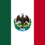 Bandera de Porfirio Díaz.