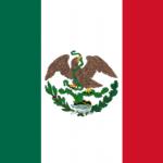 Segunda Bandera Nacional, de tiempos de Benito Juárez.