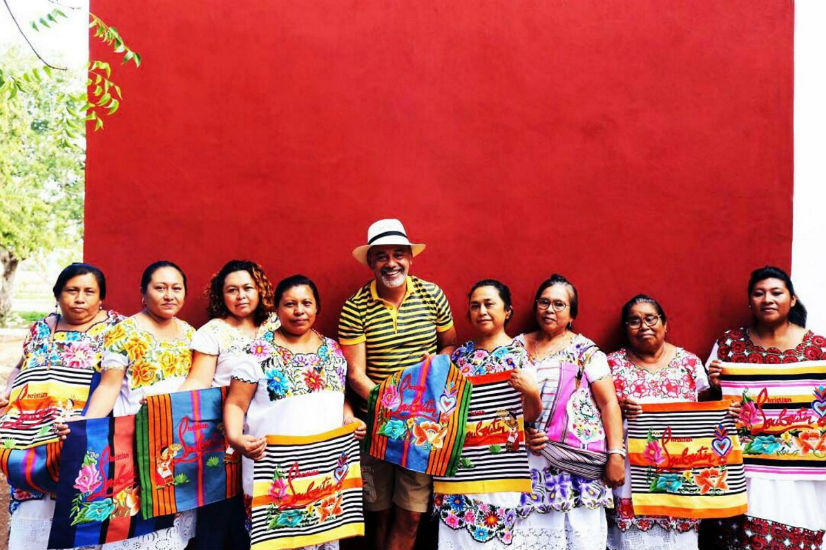 bolsos Louboutin mal pagados mujeres mayas