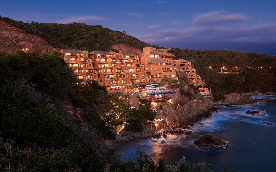capella ixtapa mejores hoteles mexico