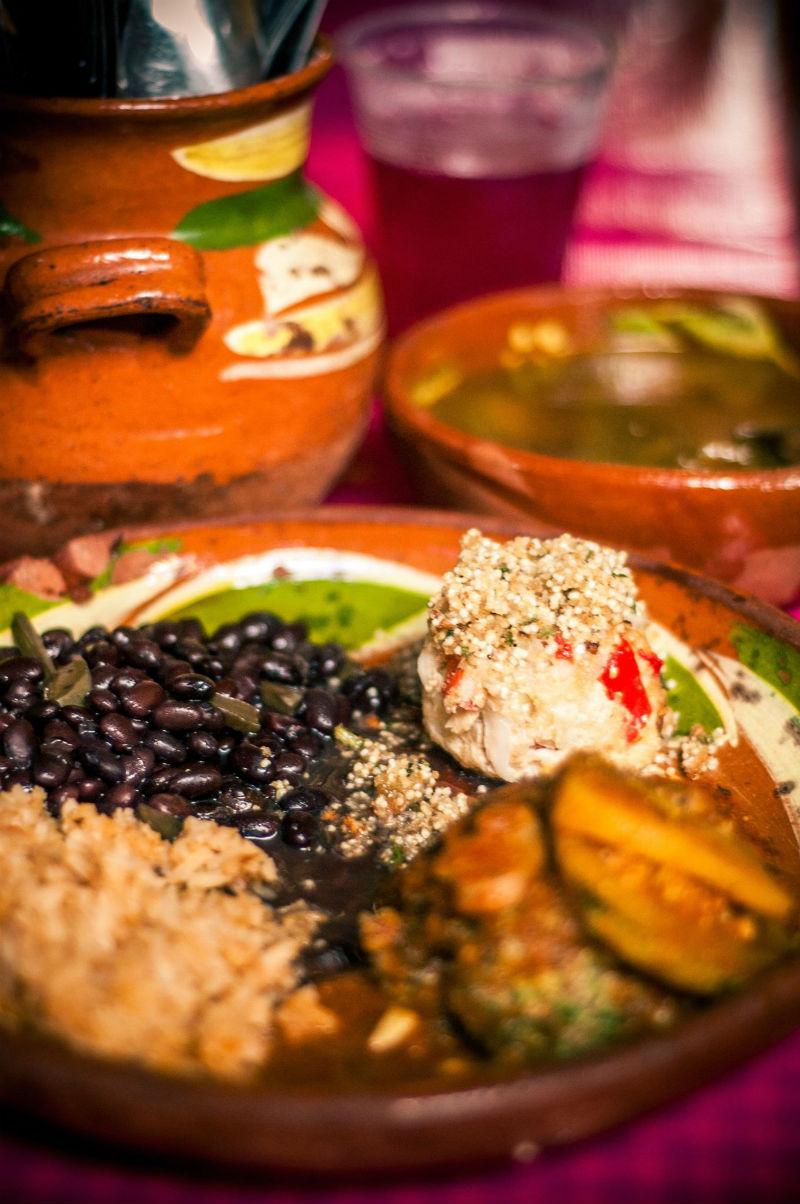 colores gastronomia mexicana comida mexico