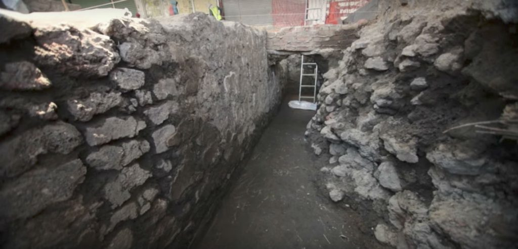 Ahora hallan restos de un calpulli mexica en Pino Suárez (VIDEO)