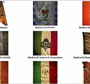 historia banderas de mexico
