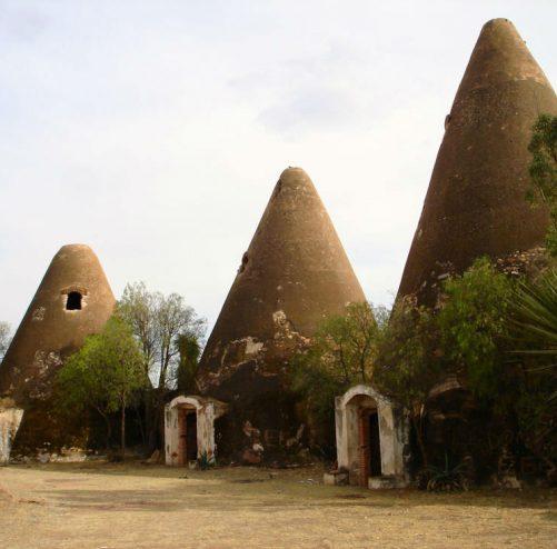 silos de santa monica zacatecas triangulares conos