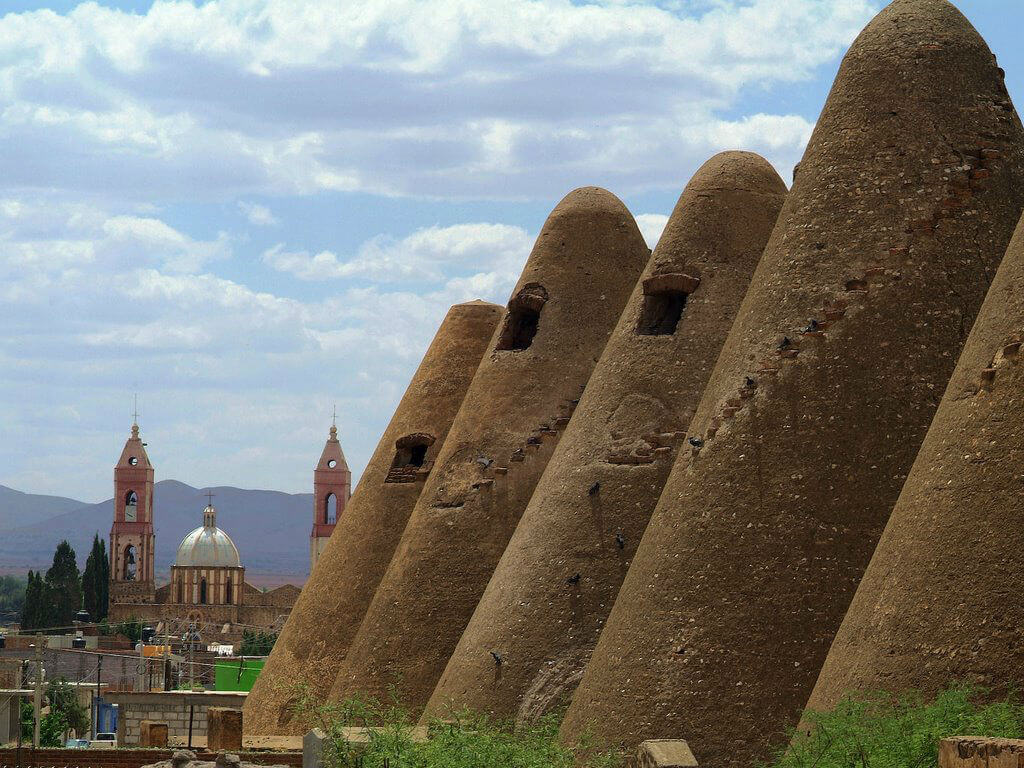 silos de santa monica zacatecas triangulares conos