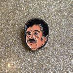 Pin del Chapo. De CROSS MY HEART