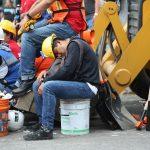 El cansancio acumulado tras una noche de luchar por la vida (Foto: Corina Herrera)