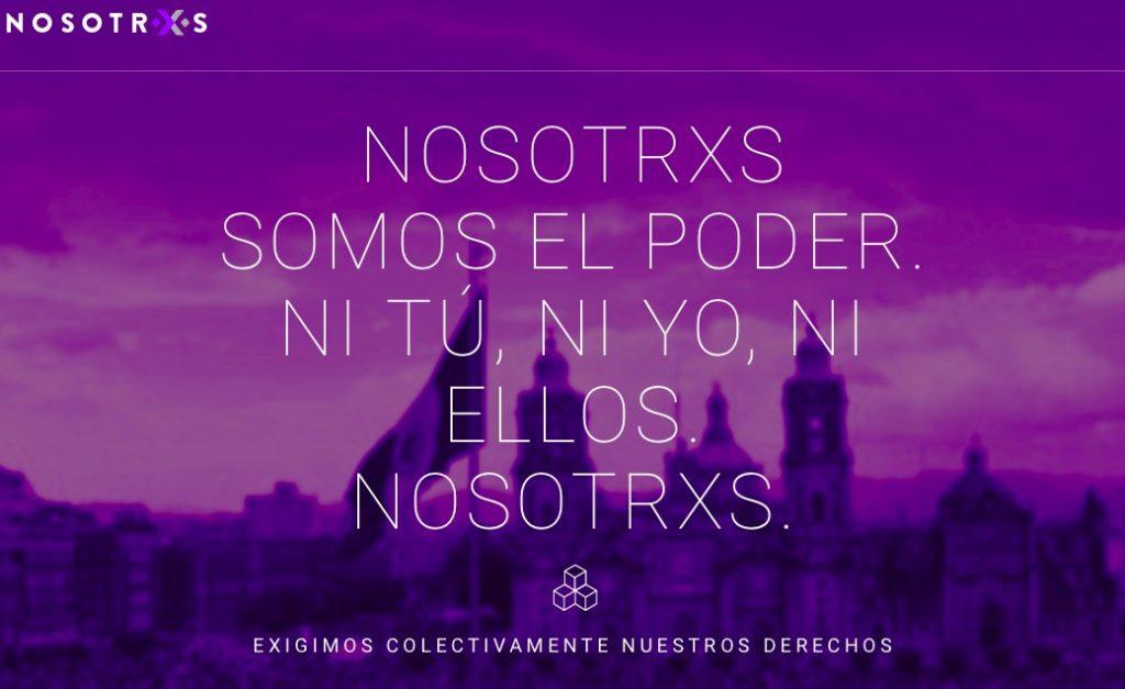 Nosotrxs-iniciativas que están luchando por construir un Mexico