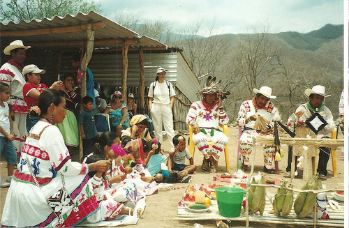 huicholes-ritual