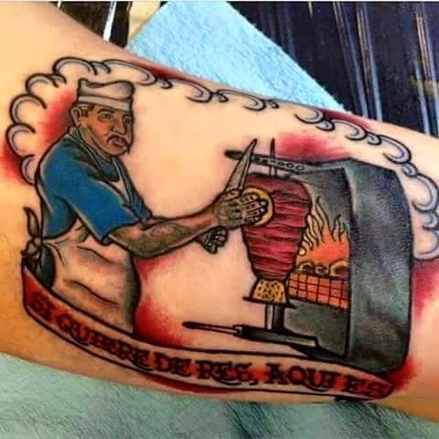 tatuaje-pastor-taquero-comida-mexicana
