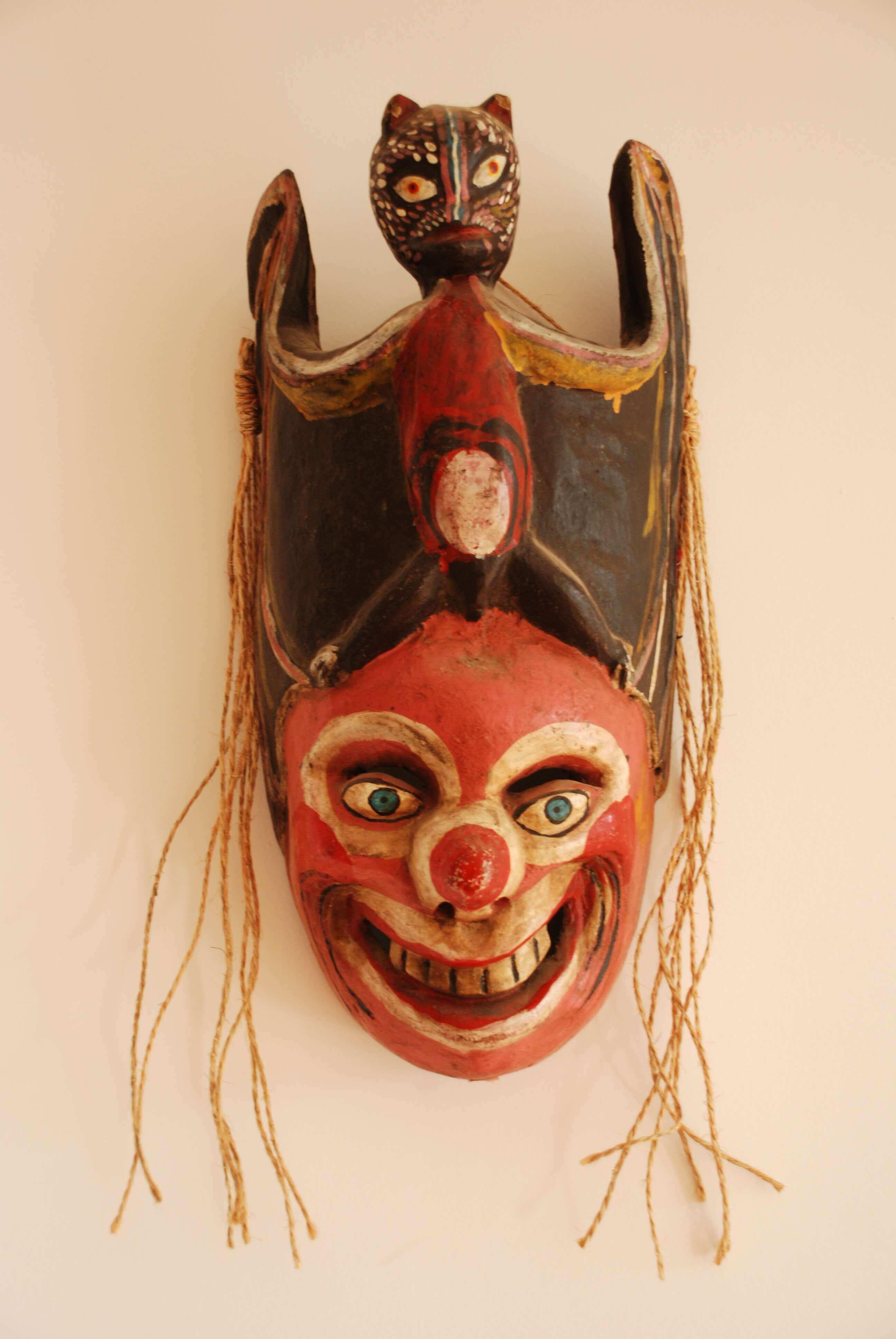 mascaras mexicanas Museo Coronel en Zacatecas