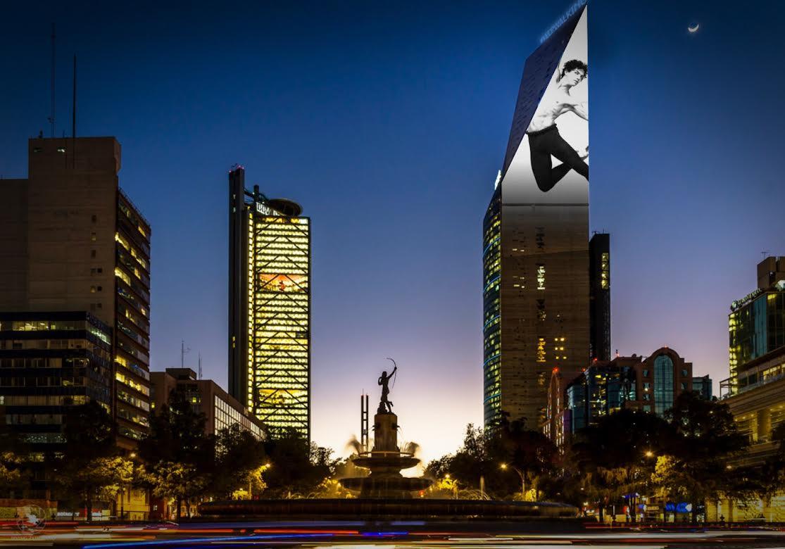 Visual Arte Week festival luz ciudad de mexico 2017-