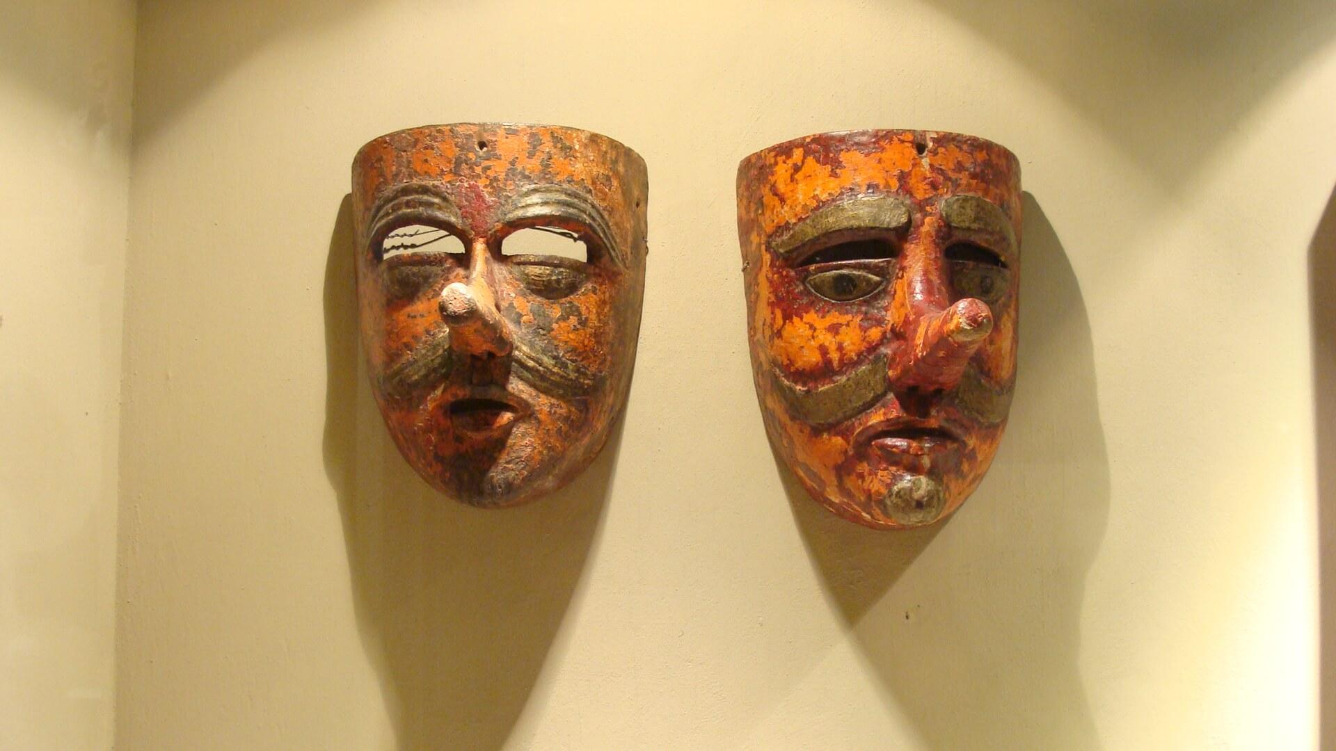 mascaras mexicanas Museo Coronel en Zacatecas 0-2