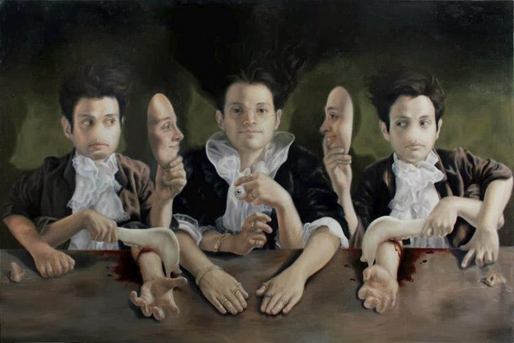 pintores-mexicanos-contemporaneos-jose-luis-lopez-galvan-surrealismo-mexico