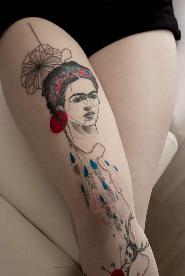 surrealismo-mexico-mejores-artistas-surrealistas-tatuajesde frida-kahlo-tattoo
