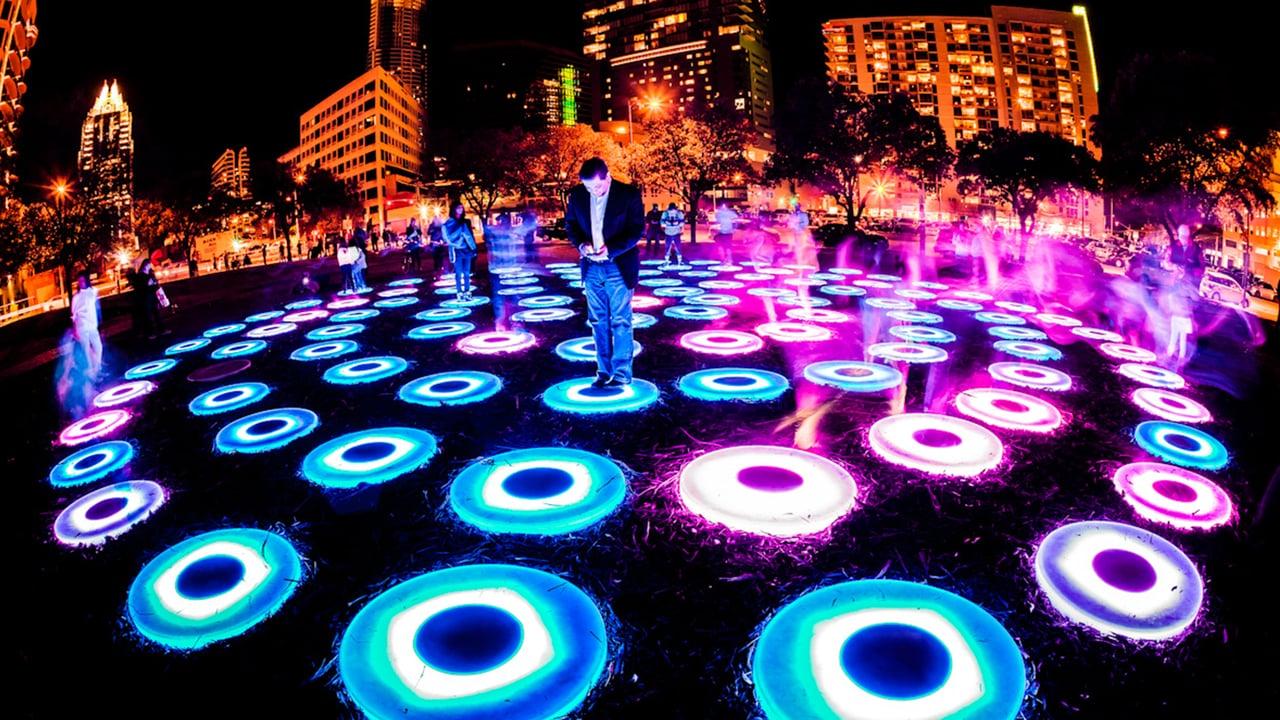 visual art week mexico festival arte luminico