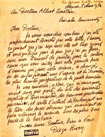 cartas-diego-rivera-albert-einstein-historia-mito-contemporaneo