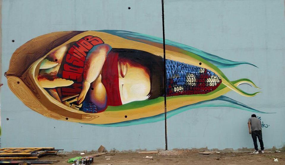 El Mural Mas Grande Del Mundo Esta En La Unam Y Es Su Cumpleanos