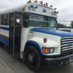 El peculiar (y encantador) transporte público reciclado de Tijuana