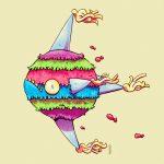 artista-mexicano-ilustracion-dibujos-reinventa-comida-mexicana-dioses-aztecas