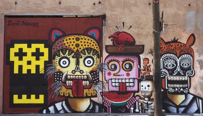 Neuzz street artist