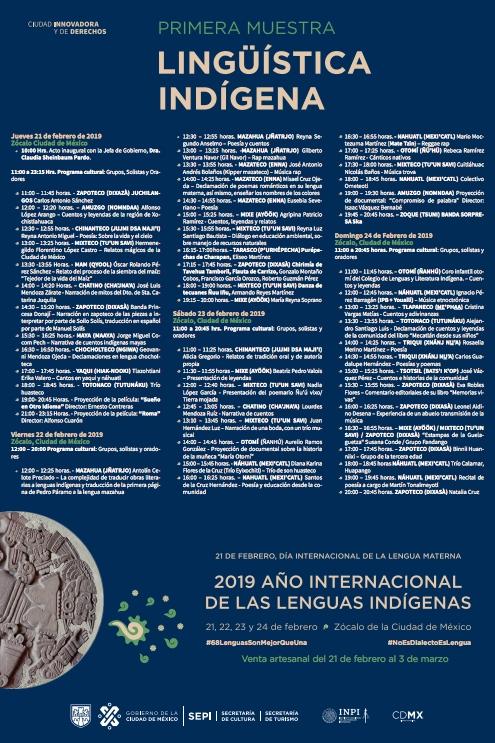 muestra-linguistica-indigena-cmdx-zocalo-eventos-dia-lengua-materna-mexico