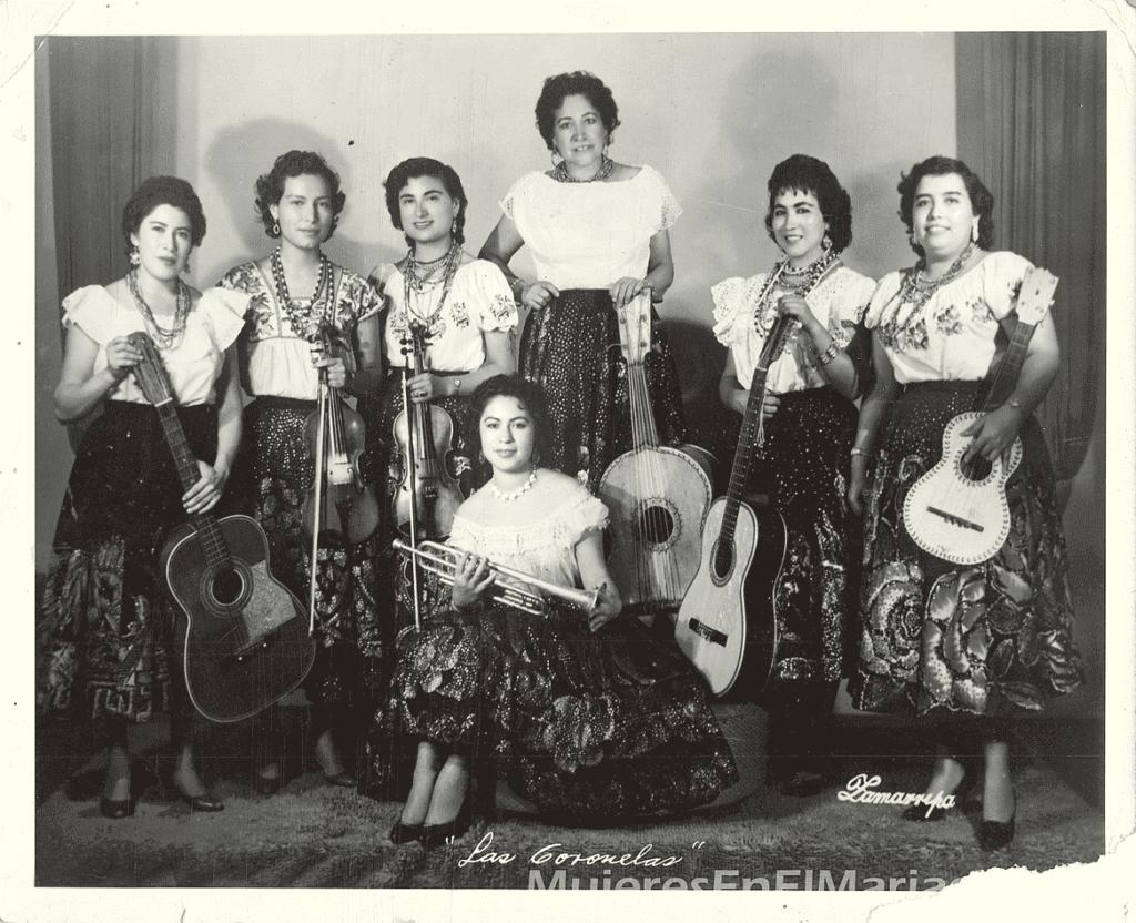 mariachi coronelas primeros mariachis mujeres