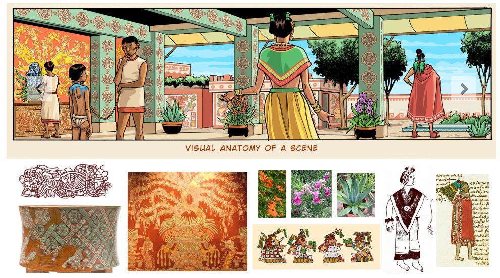 comic-imperio-azteca-caida-conquista-tenochtitlan