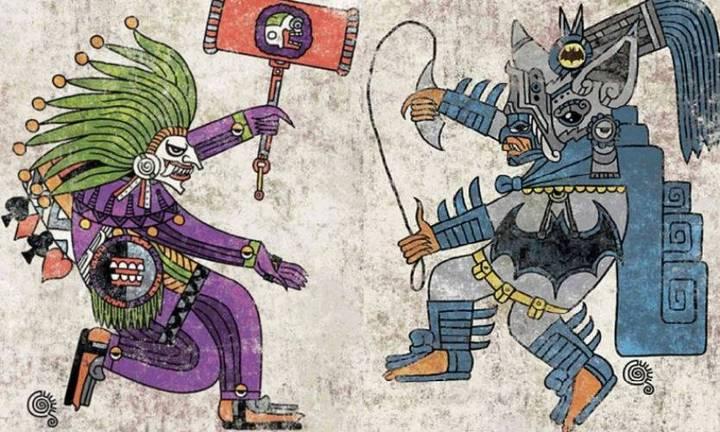 ilustrador-mexicano-cultura-pop-iconos-codices-mexicas-aztecas