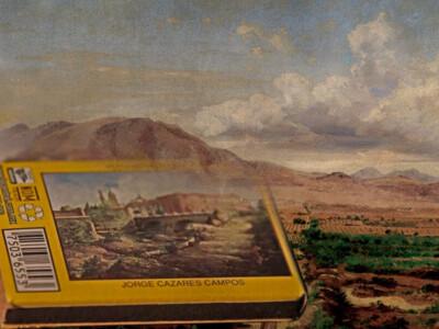 cerillos mexicanos, paisajes, pintores mexicanos