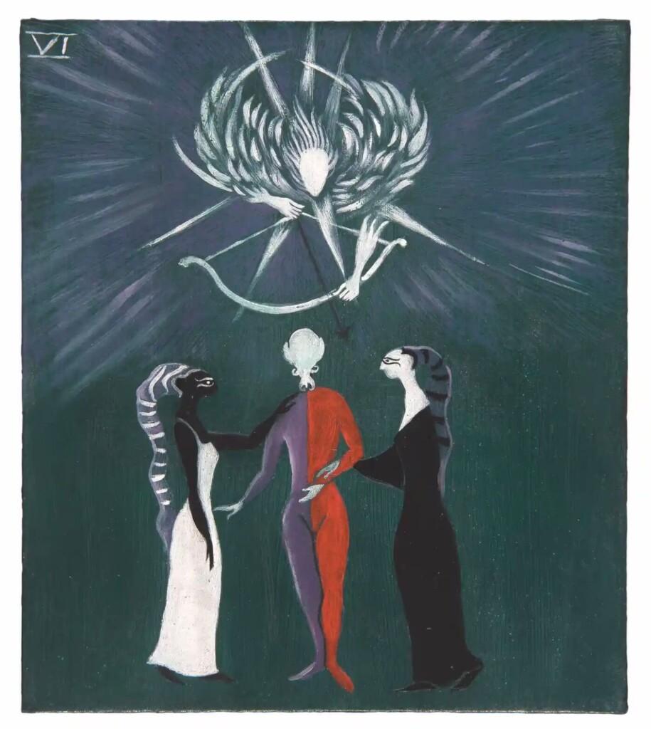 leonora-carrington-tarot-imagenes-completo-historia-significado-mexico-los-amantes