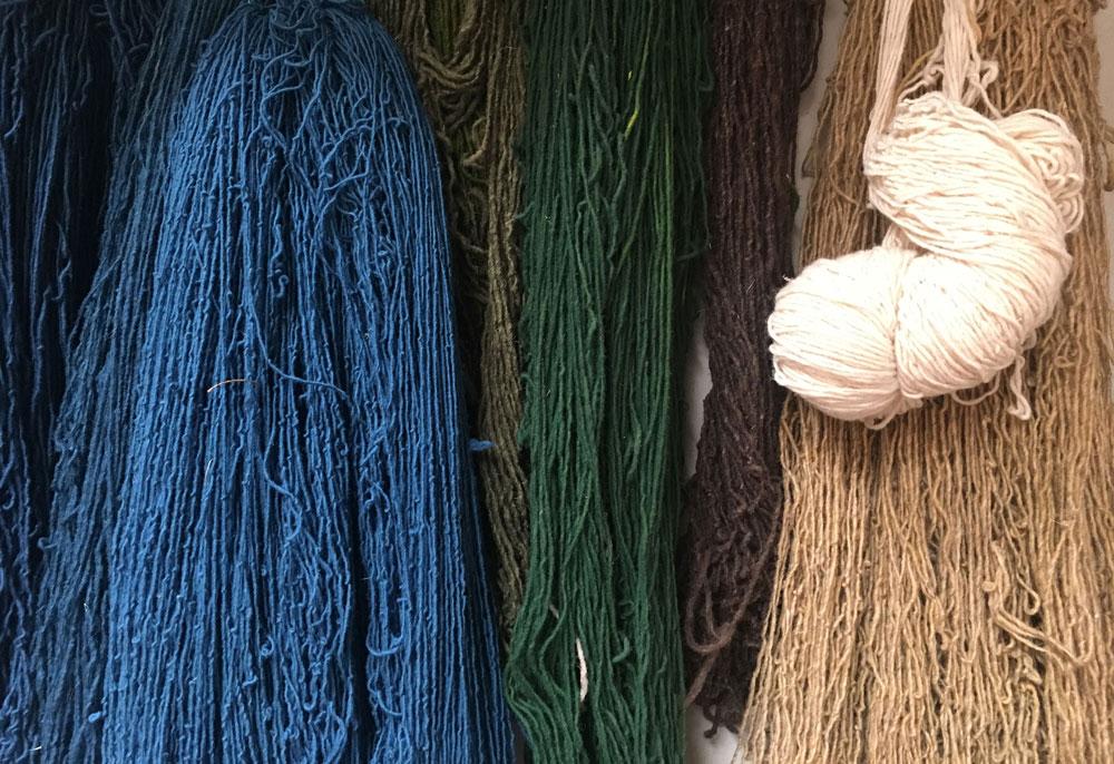 tintes-naturales-telares-oaxaca-artesania-mexicana